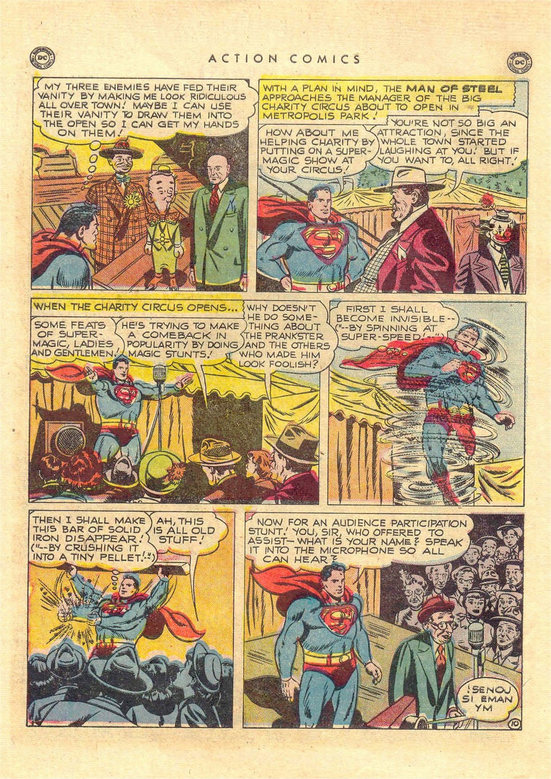 Read online Action Comics (1938) comic -  Issue #151 - 11