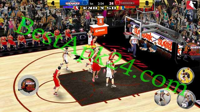 Slamdunk VS Kuroko No Basuke v2.0 Android Game Download For Free Bestapk24 6