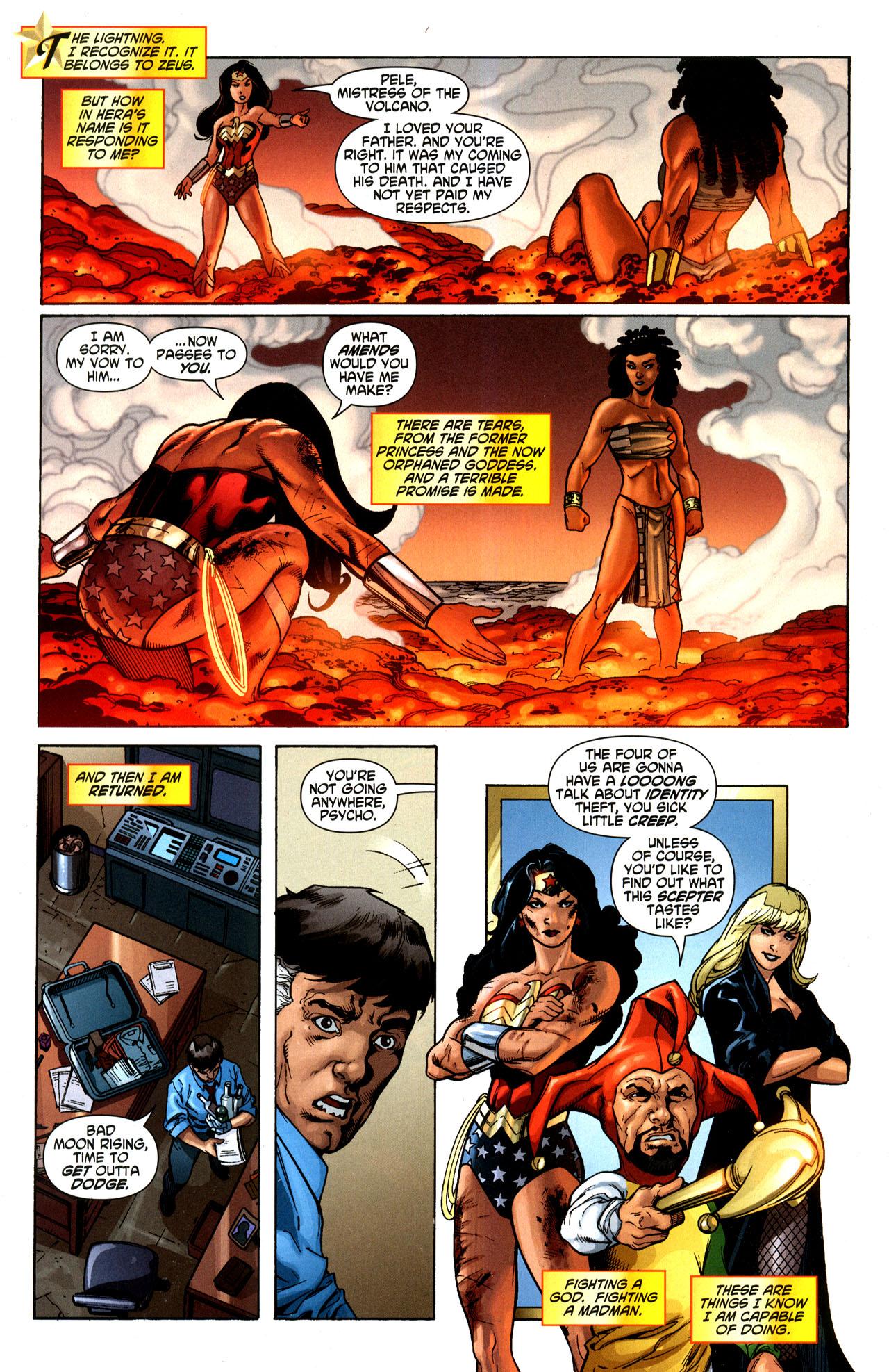 Read online Wonder Woman (2006) comic -  Issue #35 - 21