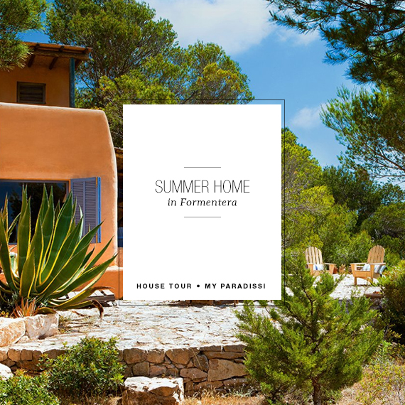 Summer house in Formentera via El Mueble | My Paradissi