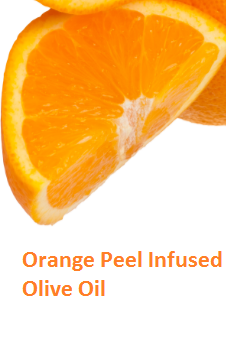Orange Peel Infused Olive Oil - Oranges citrus fruit peel (Santre Ke Chilke)