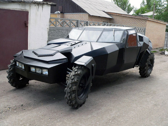 Waiting Bd A Home Built Car Out Of This World