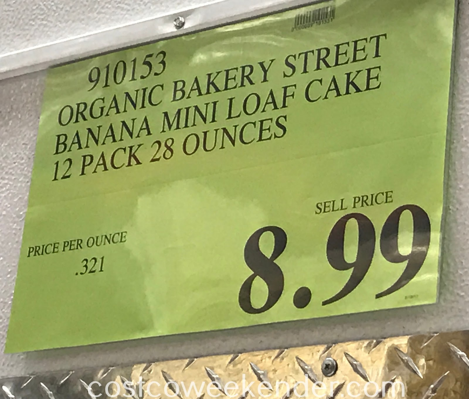 Deal for a 12 pack of Bakery Street Organic Banana Mini-Loaf Cakes at Costco