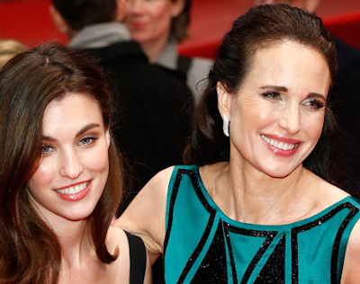 Andie MacDowell & Rainey Qualley