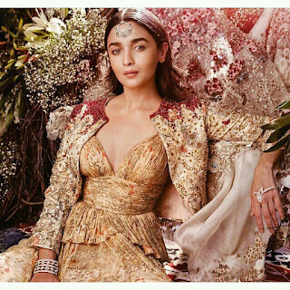 Alia Bhatt Sizzles for Baazaar Magazine Pictureshoot