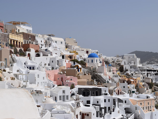 A Week Away In Santorini