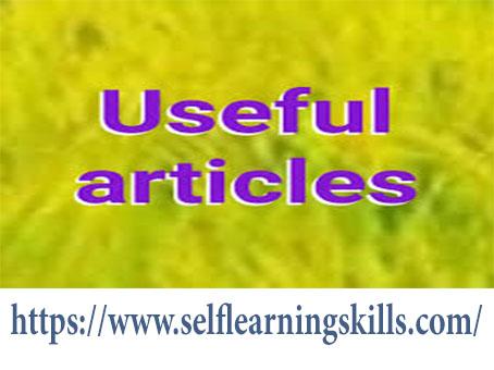 مقالات مفيدة لك  USEFUL ARTICLES