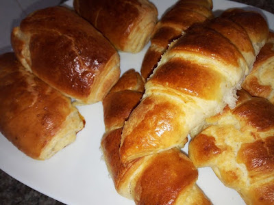 oum walid filled croissants chocolate croissant pudding  croissant french how to make croissants boulanger