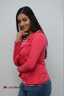 Telugu Actress Mouryani Latest Pos in Blue Denim Jeans  0014.JPG