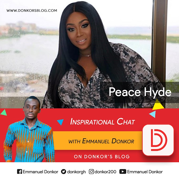 #InspirationalChat with Forbes Africa's Head of Digital Media & Partnerships, Media Entrepreneur, Activist and Motivational Speaker, Peace Hyde. #BeInspired!