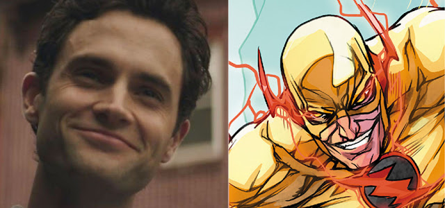 Arte de fã imagina Penn Badgley como o Flash Reverso em 'The Flash'