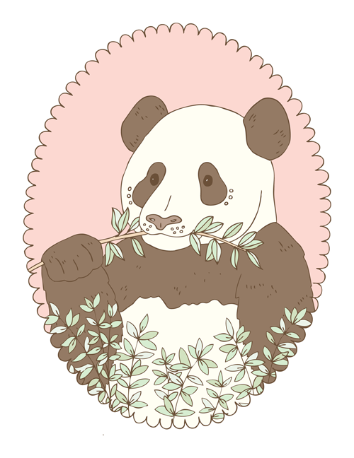 Emma Margaret Illustration Panda 2016