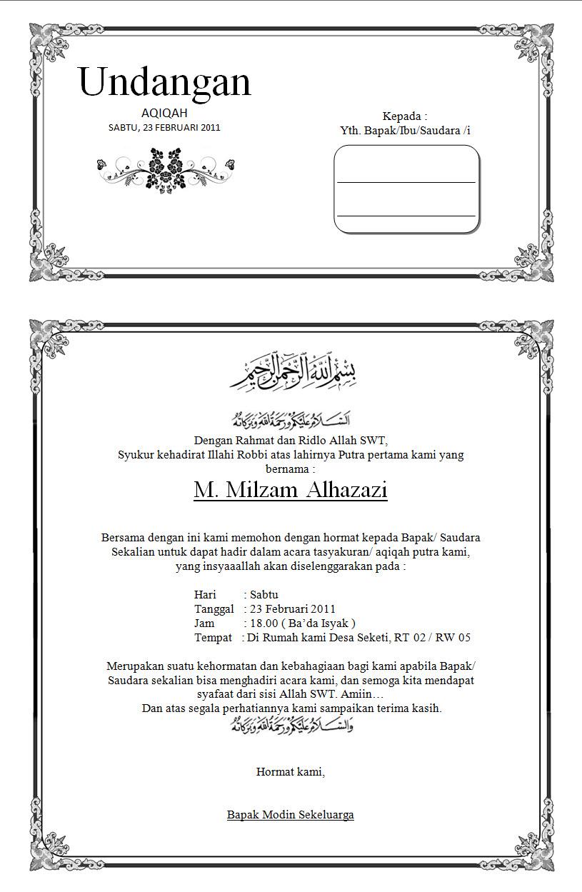 Download Undangan Syukuran Pernikahan Letterregister