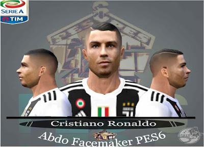 Cristiano Ronaldo (Juventus FC) Face 2018-19 Update - PES 6