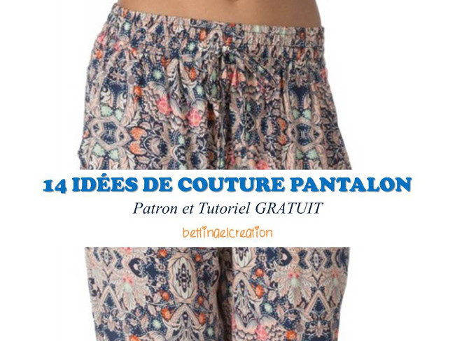 Free les 14 meilleures id es couture pantalon femme bettinael passion couture made in france - Comment couper un pantalon en short ...