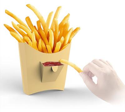 hộp giấy đựng khoai tây giá rẻ