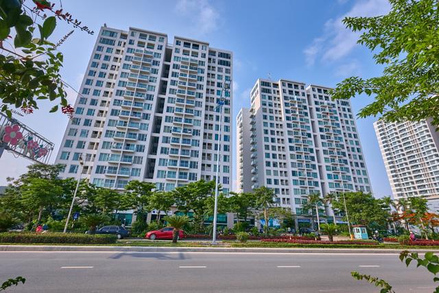 Green Bay Garden có vị trí đẹp nằm ngay mặt đường Hoàng Quốc Việt