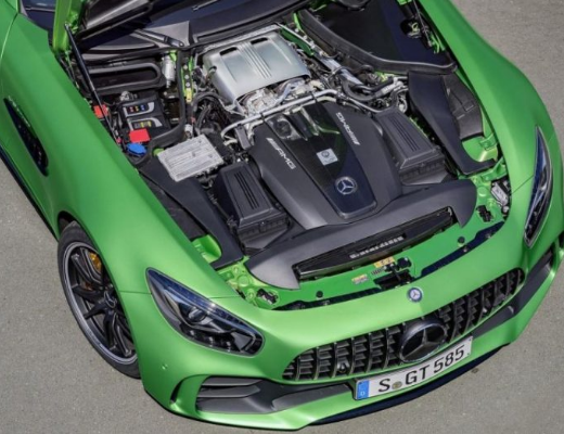 2017 Mercedes AMG GT-R Engine