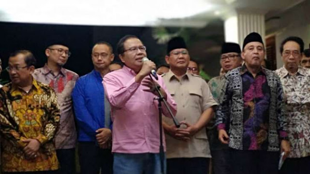 Usai Beri Masukan ke Prabowo, Rizal Ramli Tetap Berdiri di Tengah
