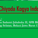 Lowongan Kawasan Industri Jababeka II Cikarang  PT Chiyoda Kogyo Indonesia