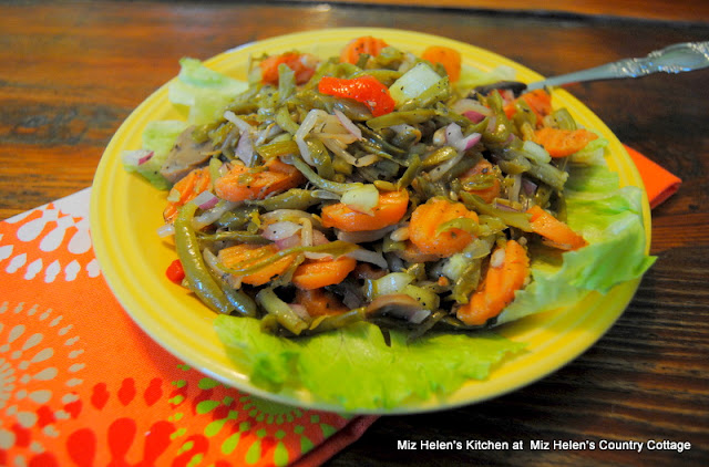 Green Bean Salad at Miz Helen's Country Cottage