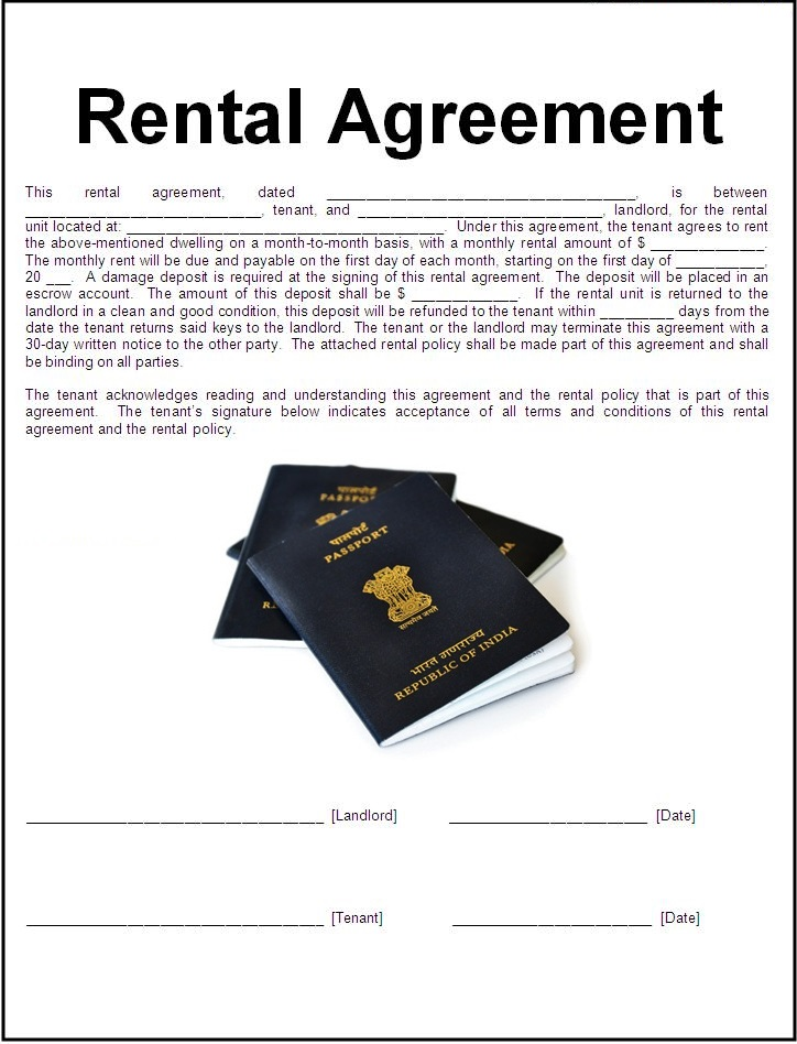 Acceptance Of Registered Rent Agreement As Valid Address Proof For