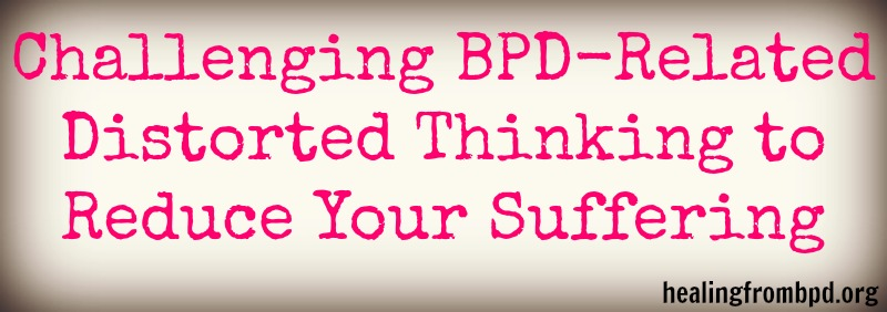 Healing From BPD - Borderline Personality Disorder Blog