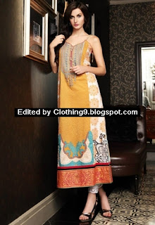 Firdous Cotton Embroidered Kurti
