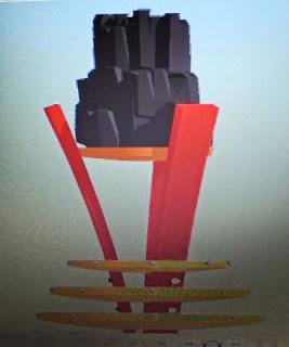 patung batubara