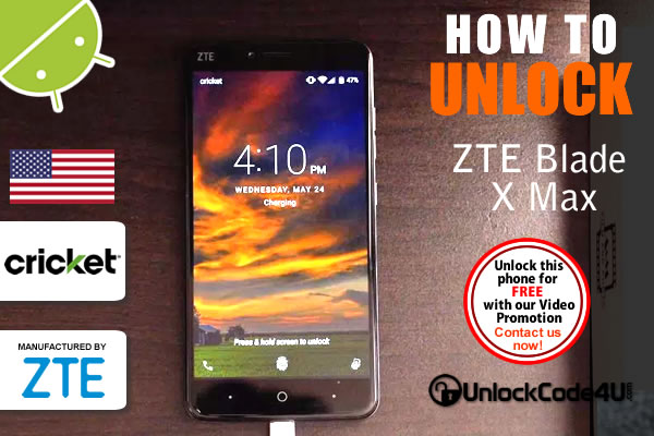 Factory Unlock Code ZTE Grand™ X 4 from Cricket