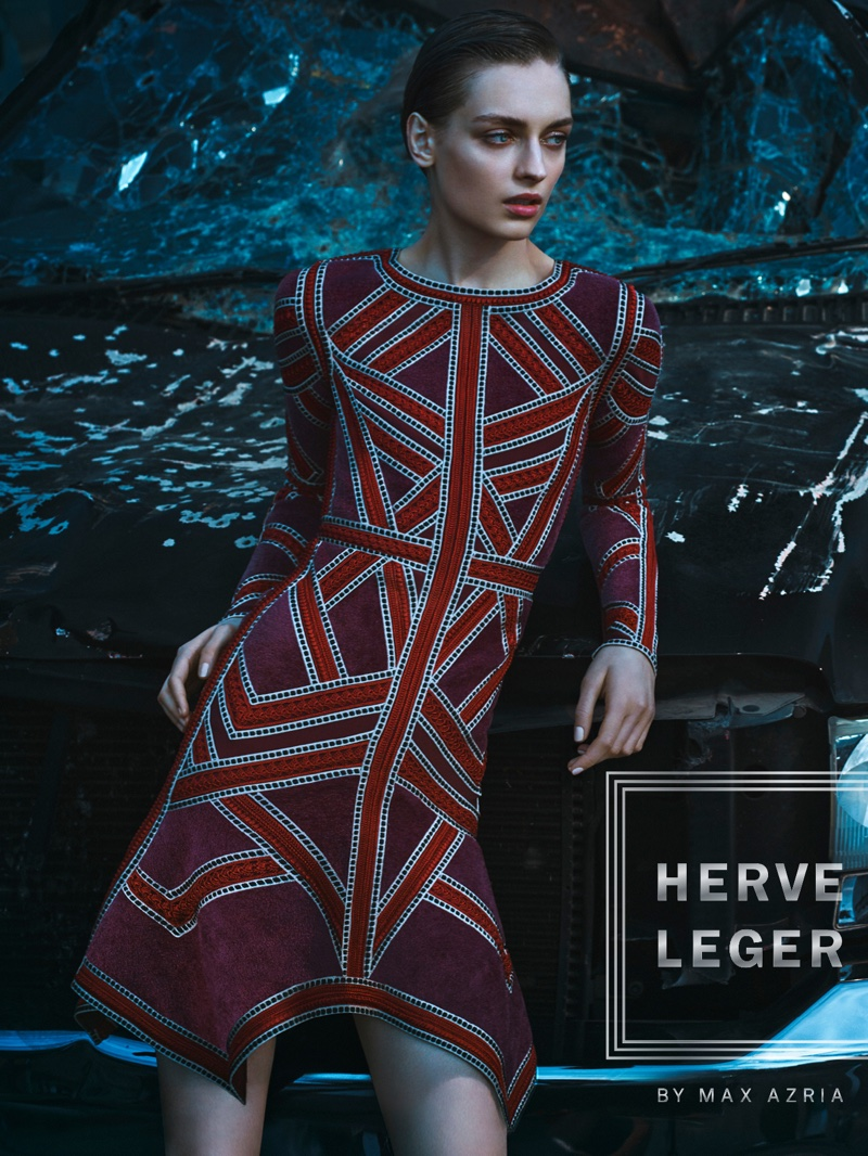 Herve Leger Fall/Winter 2016 Campaign