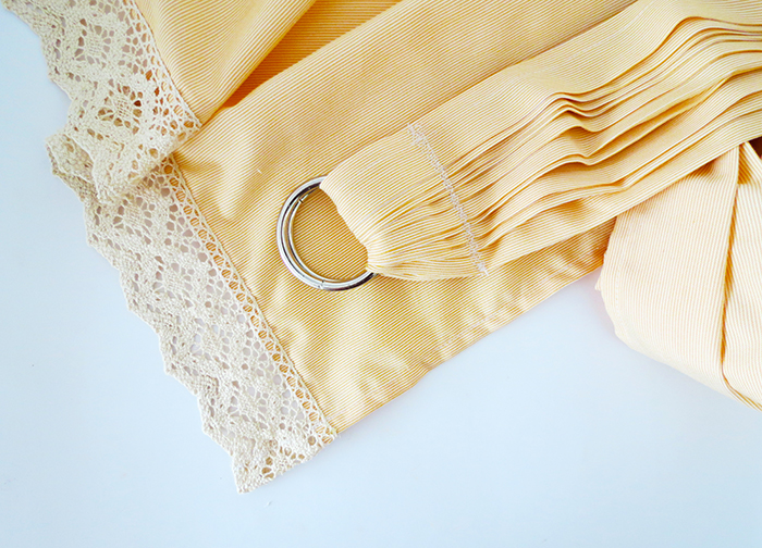 How to sew a baby ring sling