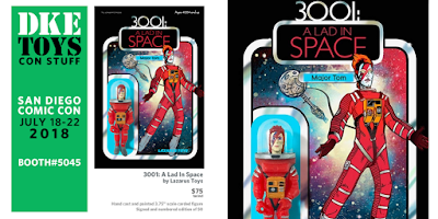 San Diego Comic-Con 2018 Exclusive 3001: A Lad In Space Resin Figure by Lazarus Toys x DKE Toys