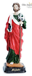 Imagem São Judas Tadeu | Oito Anjos Artigos Religiosos e Loja Esotérica