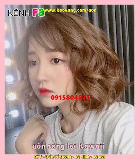 Uốn sóng lơi tóc dài / lửng / ngắn: đẹp như thiên thần