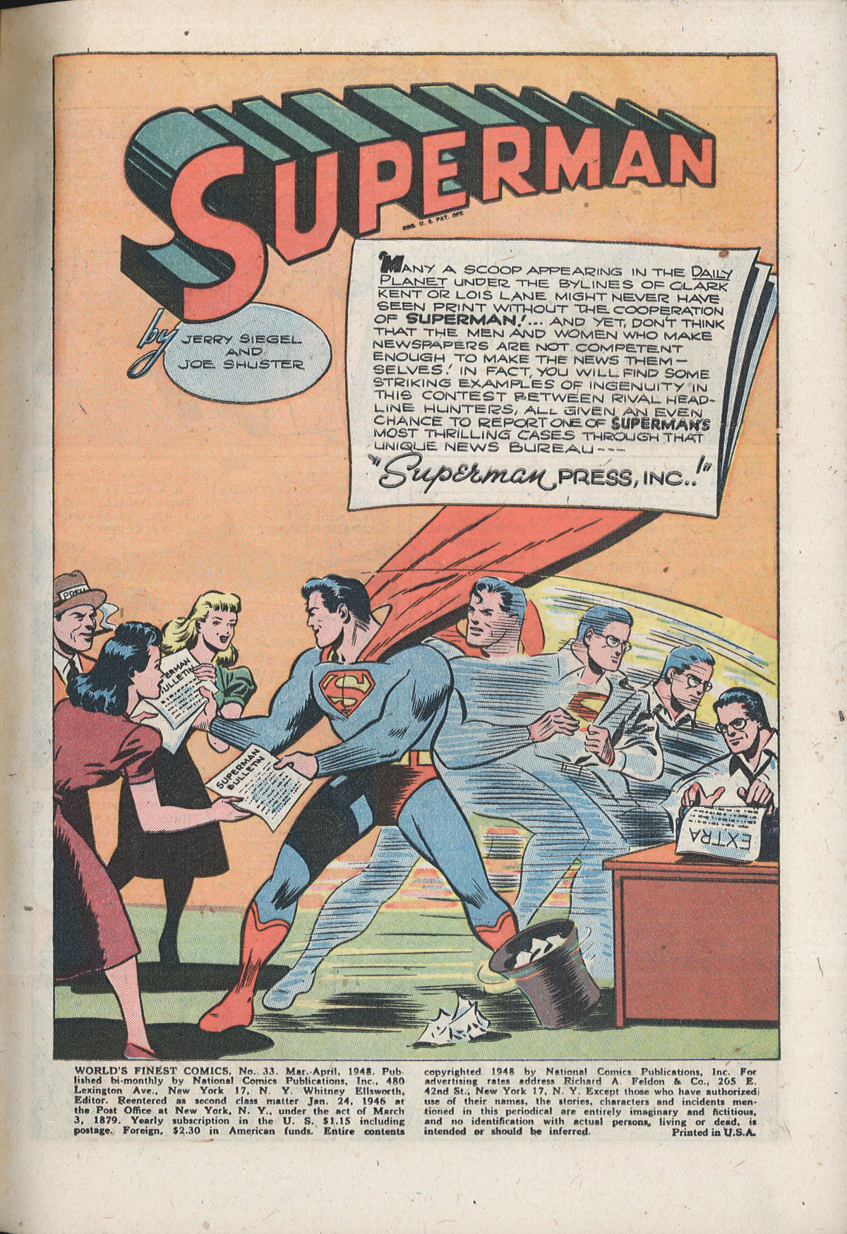Read online World's Finest Comics comic -  Issue #33 - 3