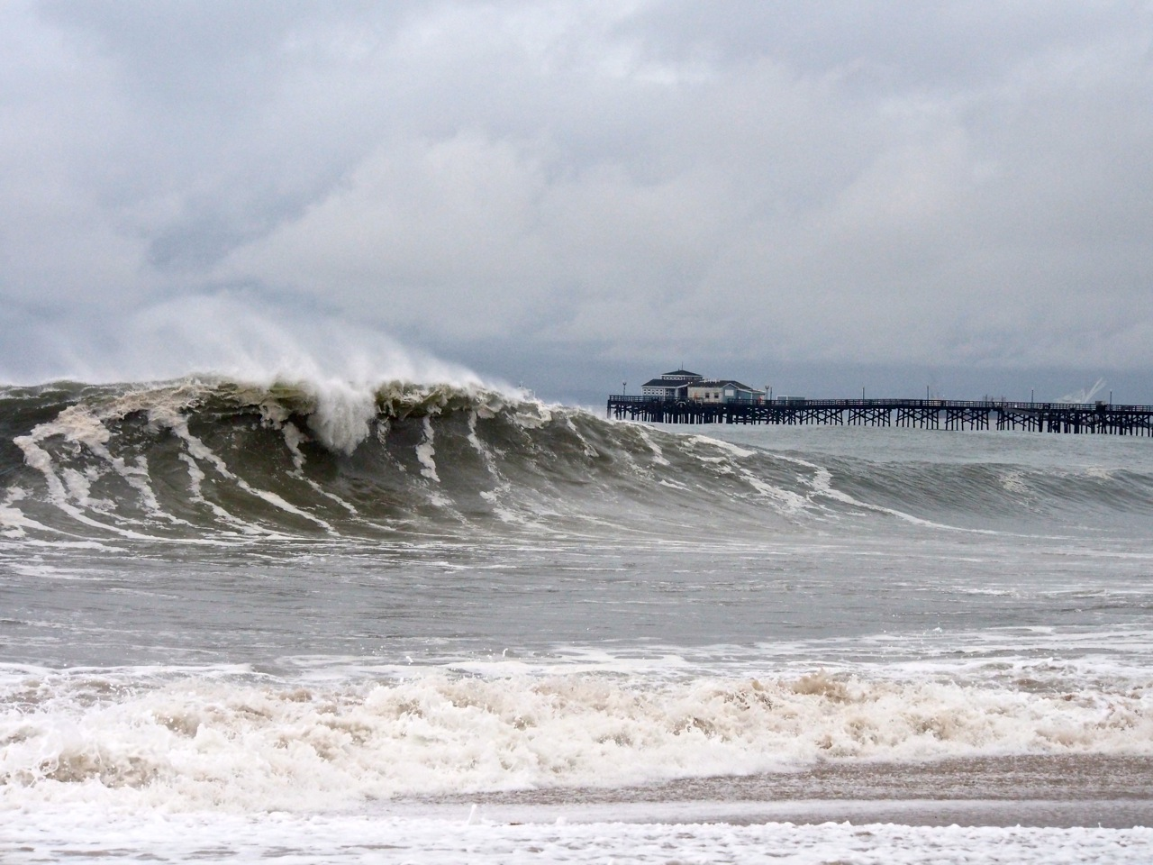 Waves At Seal Beach