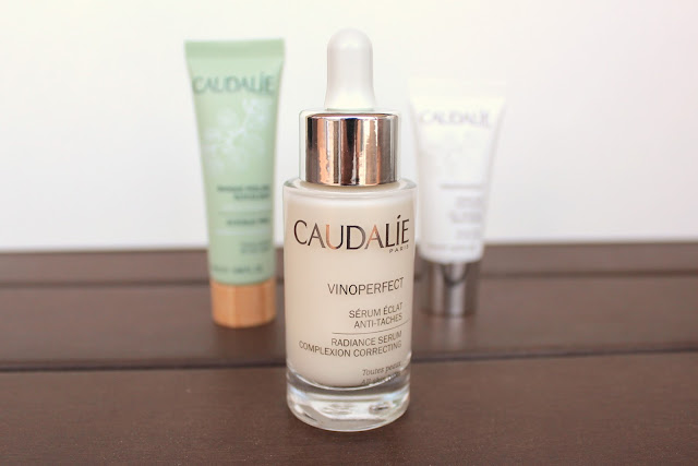brightening anti dark-spot skincare routine: Caudalie Serum