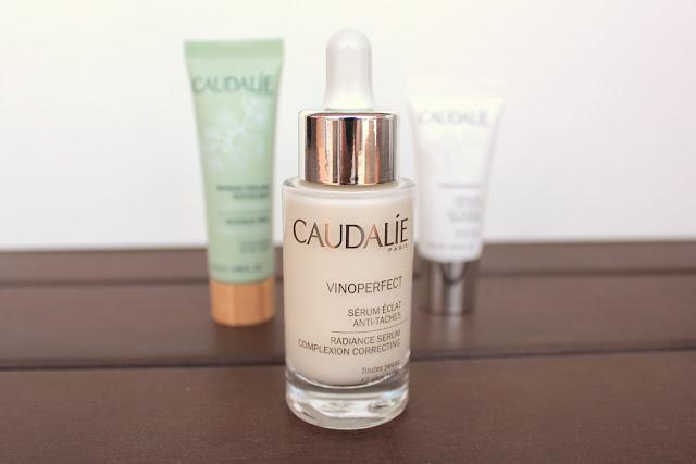 brightening anti dark-spot skincare routine: Caudalie Serum