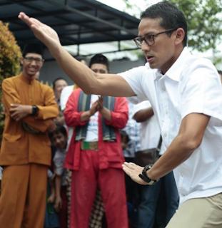 BERITA KAGET !! Sebut Sandiaga Uno Keturunan Raja Gorontalo, Warga Sambut Gembira