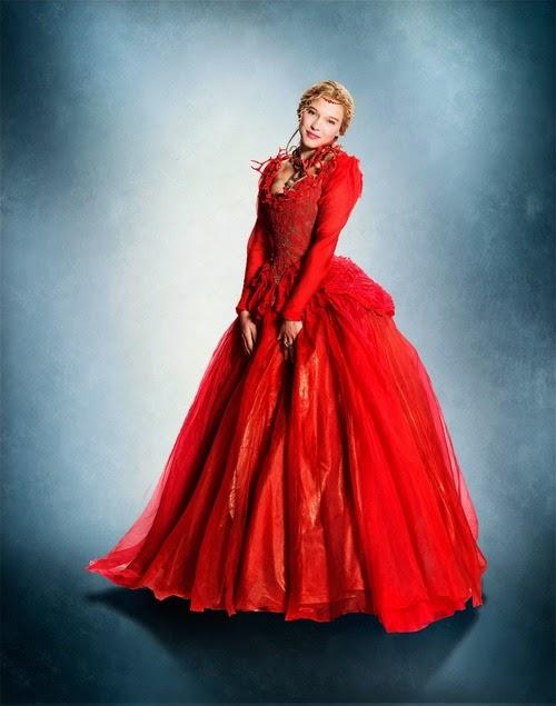 Figurino A Bela e Fera 2014, La Belle et la Bette vestido vermelho