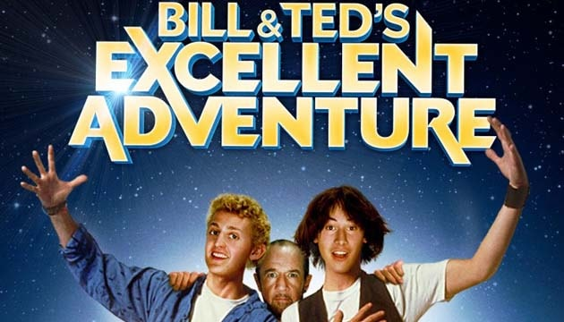 bill and ted adventure bercerita tentang
