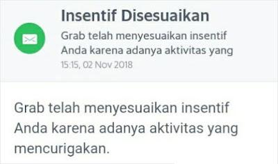 Transfer Dompet Tunai Grab Gagal