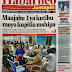 Magazeti  ya  leo  Jumapili Novemba 19, 2017
