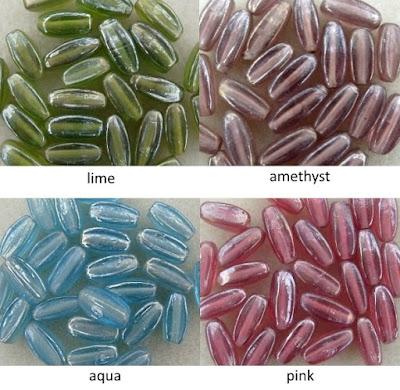 hand made glass beads