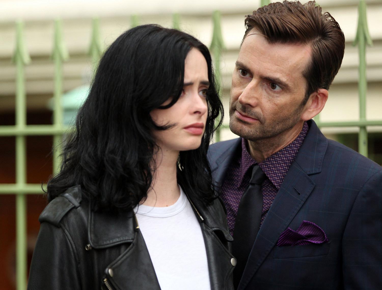 Photos David Tennant Returns As Kilgrave For Jessica