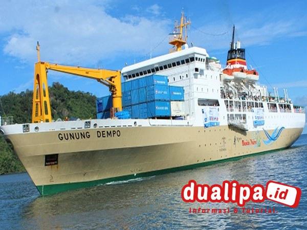 Jadwal Kapal Gunung Dempo Oktober 2021