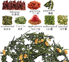 Japanese Kampo Weight loss Green Tea Shop: Genmaicha Brown