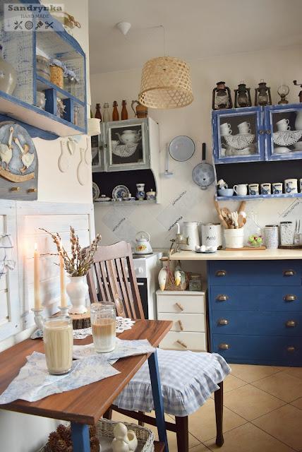 Metamorfoza Kuchni na Wiosnę w Stylu Cottage Blue :)