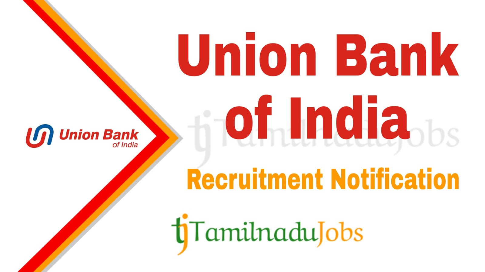 Union Bank of India Recruitment Notification, govt jobs for MBA, govt jobs for graduates